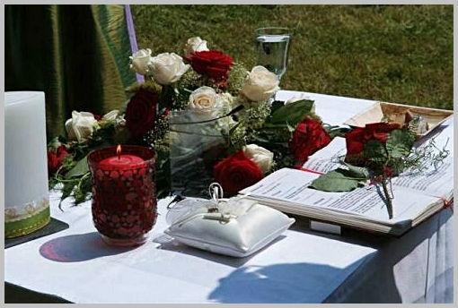Alles für Ihre Trauung. Foto: Zeitlose Zeremonie