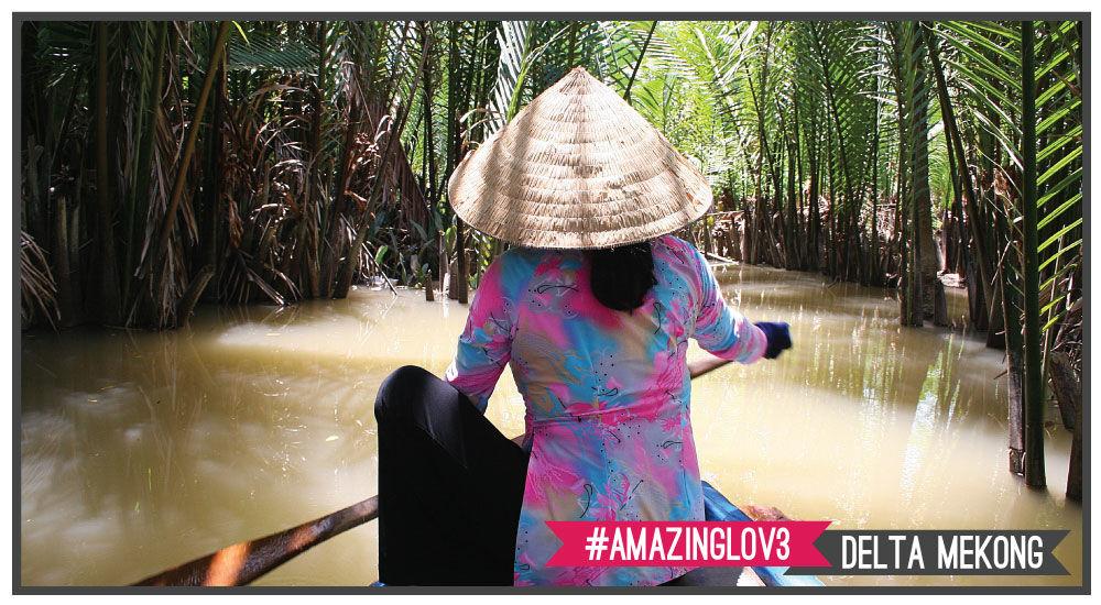 il delta del Mekong regala immagini incredibili