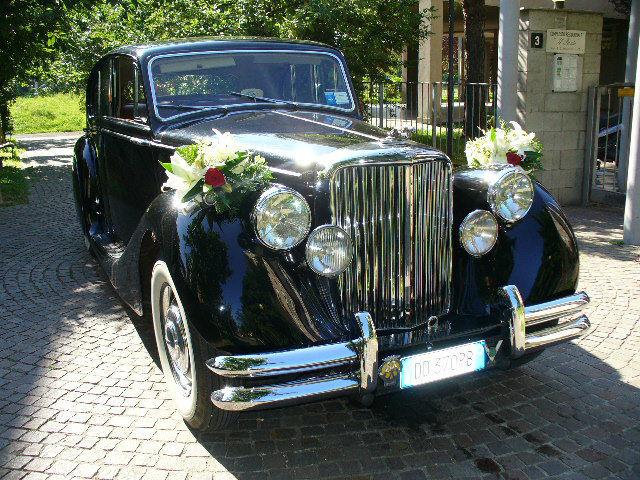 Jaguar MKV nera