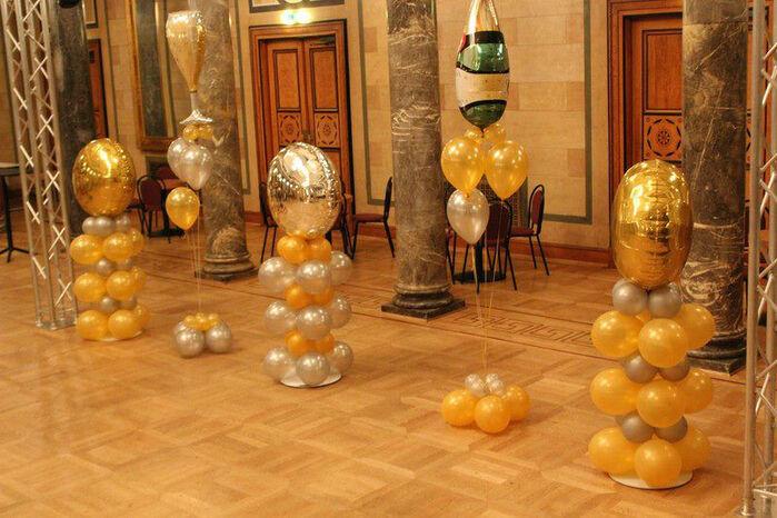 Beispiel: Eventdekoration mit Luftballons, Foto: Airmotion - Ihr Ballonshop.