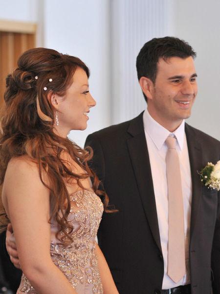 Beispiel: Brautpaar, Foto: Sylvia Mobil.