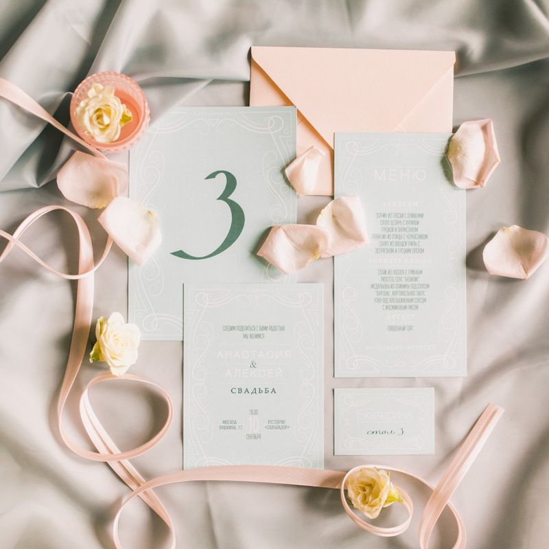 Свадебные приглашения Pretty Paper