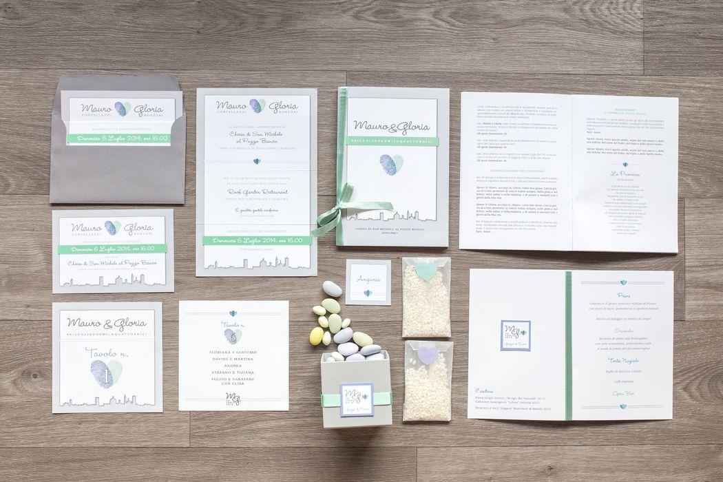 Ogni progetto è unico e cucito su misura degli sposi.