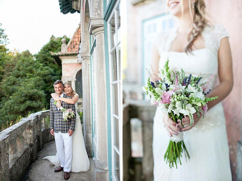 Beautiful Boho Wedding in Sintra