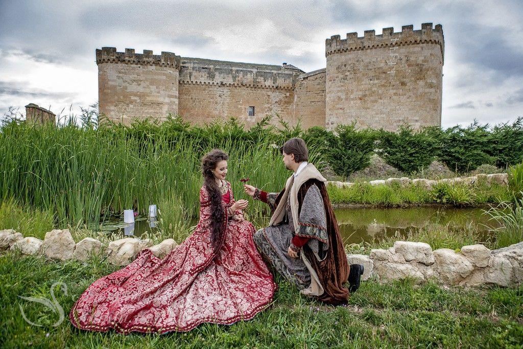 Boda de Yuriy y Svetlana en castillo Buen Amor. Wedding planner Natalia Ortiz Photo: Patricia Knabe