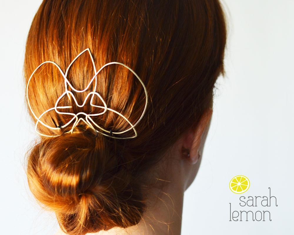 Fascinator Orquídea Sarah Lemon