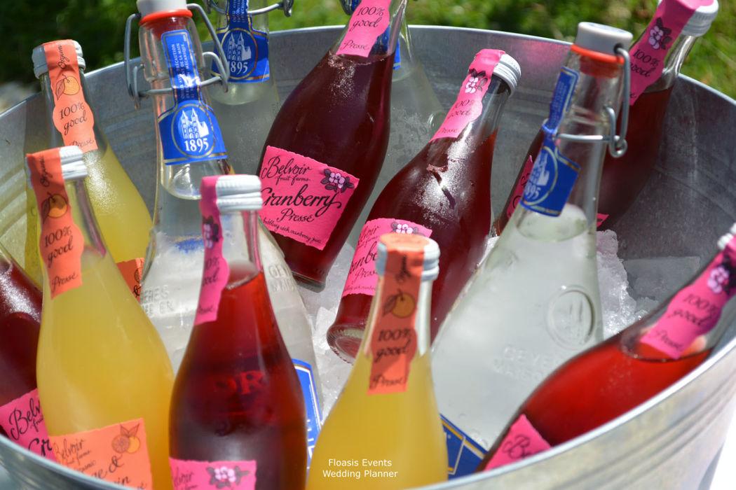 Bar à limonade - Floasis Events wedding planner