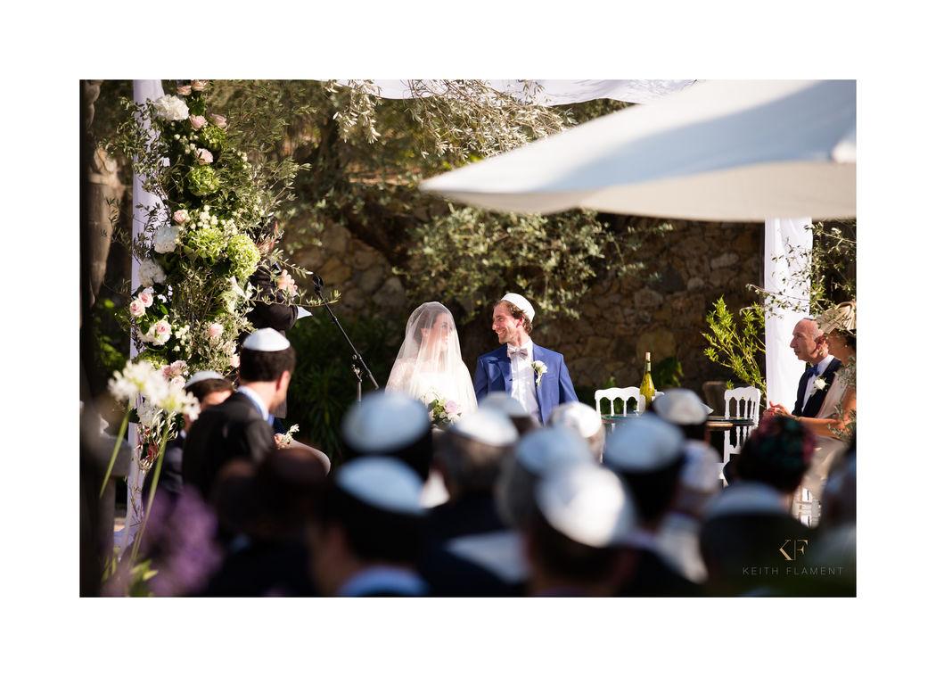 Mariage juif au Château Front du Broc @ Les arcs