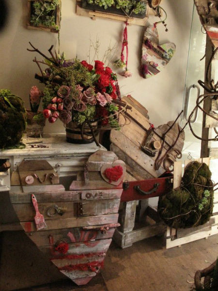 Arlette Salas, arquitectura floral