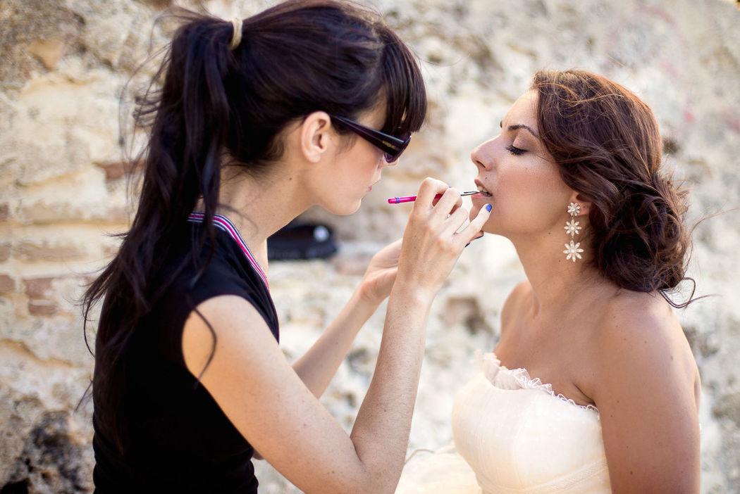 Maquillaje y peinado postboda playa. Nuria Villa · Makeup Studio