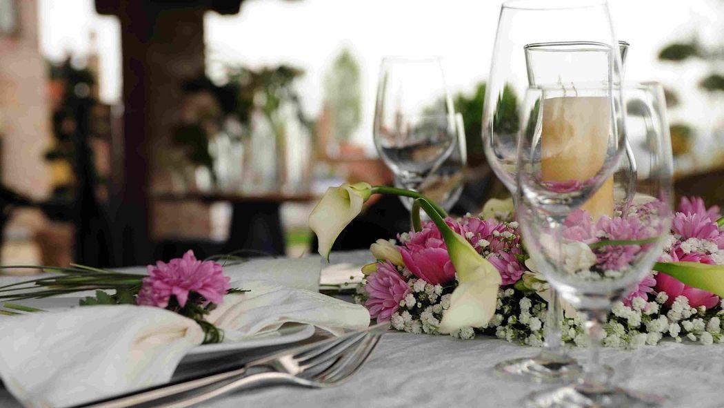 La Madernassa Resort - tavolo sposi
