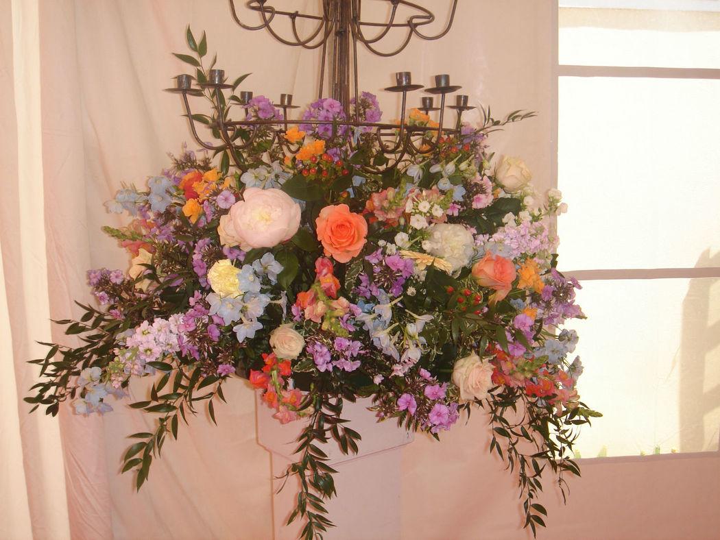 Blumendekoration, Foto: Lilli´s Feststadl.