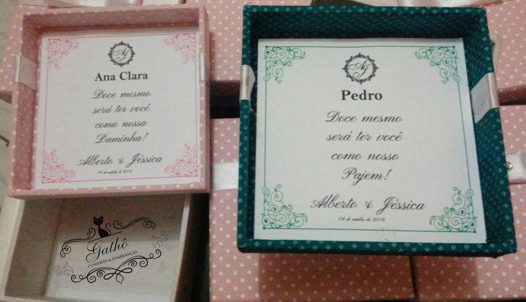 Gathô Convites & Lembranças Personalizadas