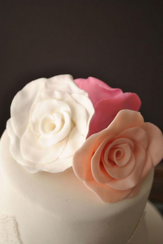 Rosas fondant