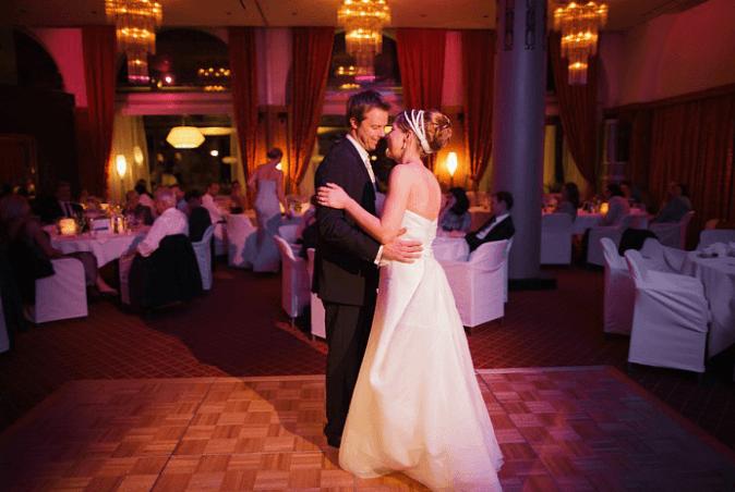 Beispiel: Fotos von Ihrer Hochzeitsfeier, Foto: Matthias Richter Photography.
