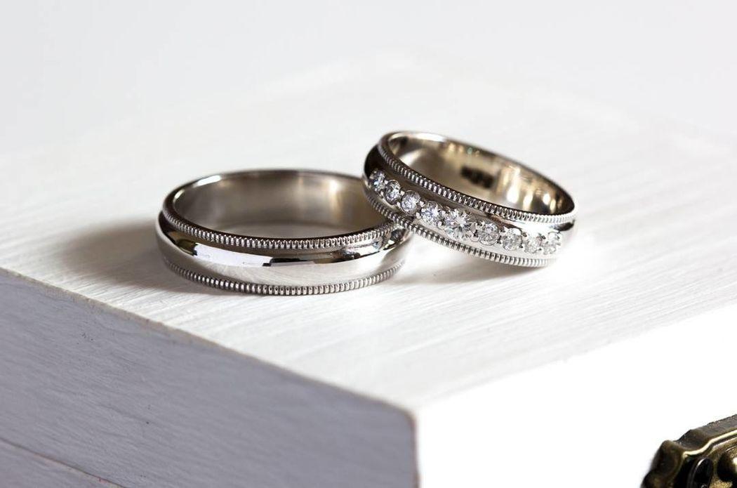 Класссические кольца с бриллиантами 3