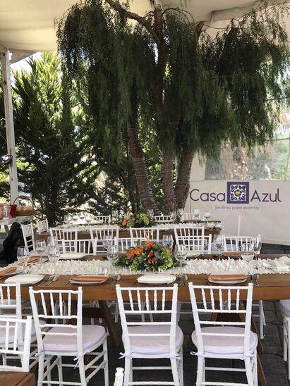 EXPLANADA EN CASA AZUL