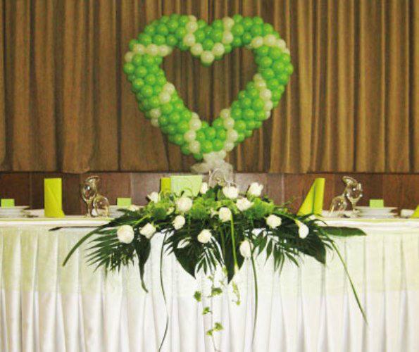 Beispiel: Ballondekorationen, Foto: Erlebnis Dekoration.