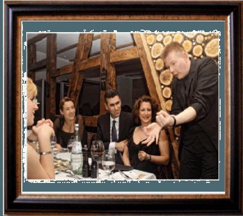 Beispiel: Begeisterung der Gäste, Foto: Hochzeitszauberer Marc Dibowski.
