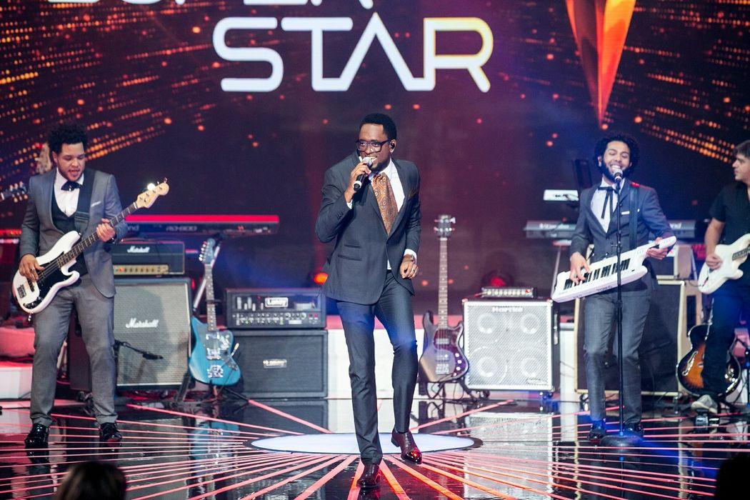 Serial Funkers no palco do SuperStar