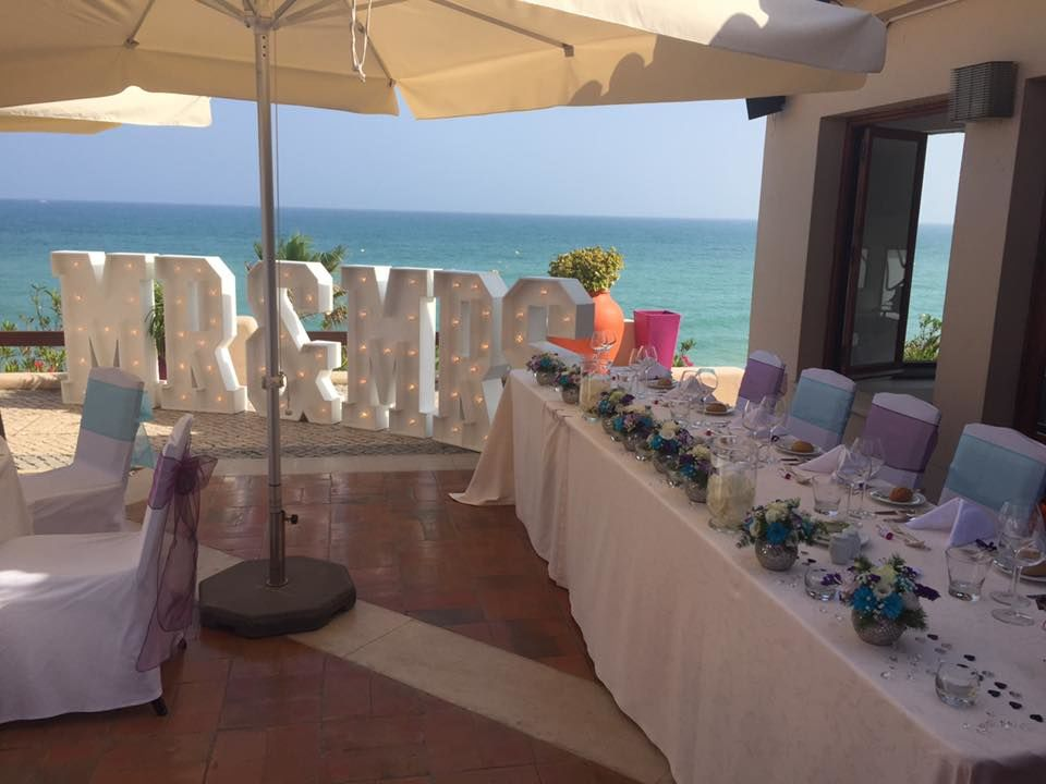 Algarve Wedding Letters