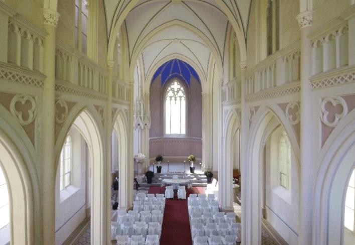 Beispiel: Eventkirche, Foto: Eventkirche Schloss Kröchlendorff.