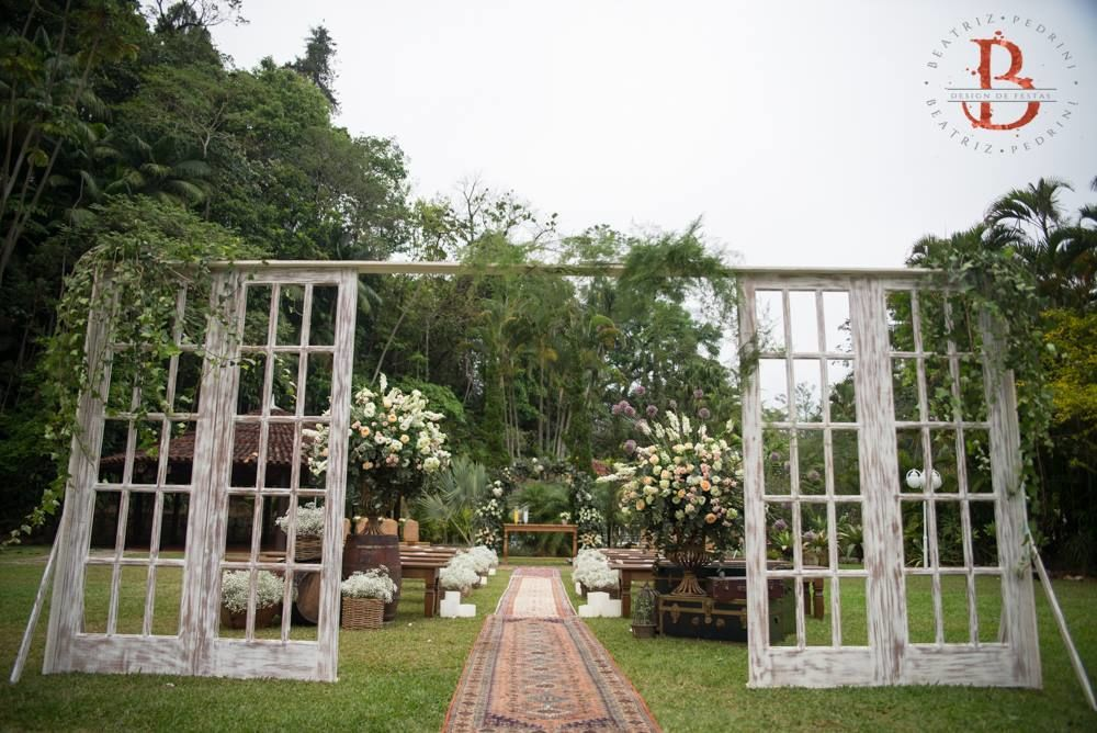 Bia Pedrini | Design de Festas   Wedding - Detalhe: Cerimônia