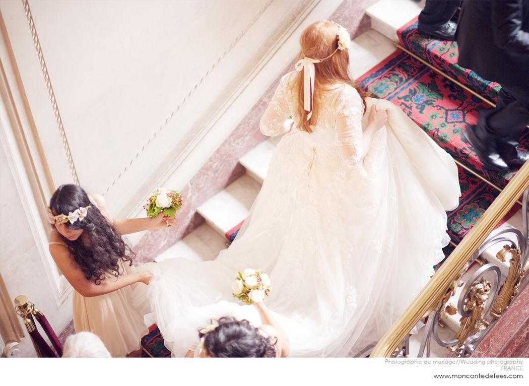 Photographie de mariage par Iwona Paczek www.moncontedefees.com