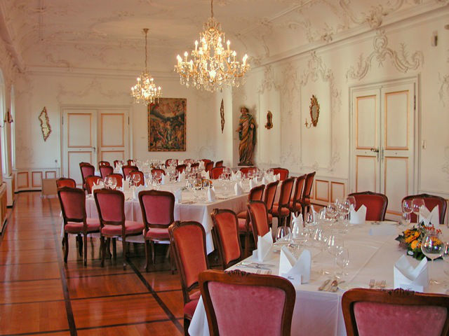 Beispiel: Barocksaal, Foto: Elztalmuseum Waldkirch.