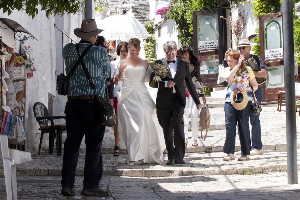 Romantic Wedding among
