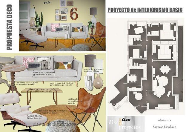 Proyecto de Interiorismo Basic.