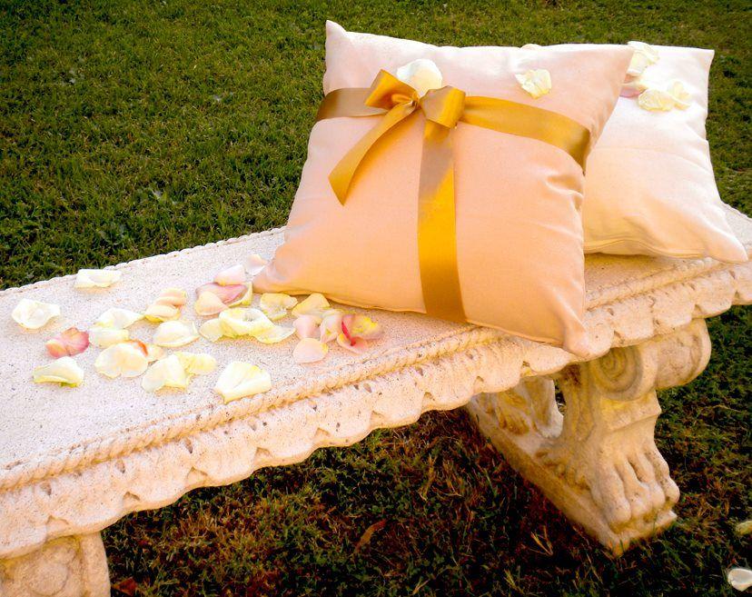 Peach & Gold Wedding