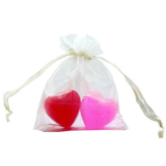 corazones de jabón  $ 1.000