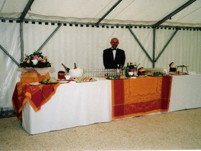 Manoir du Val Denis - Votre cocktail peut être servi sous la tente