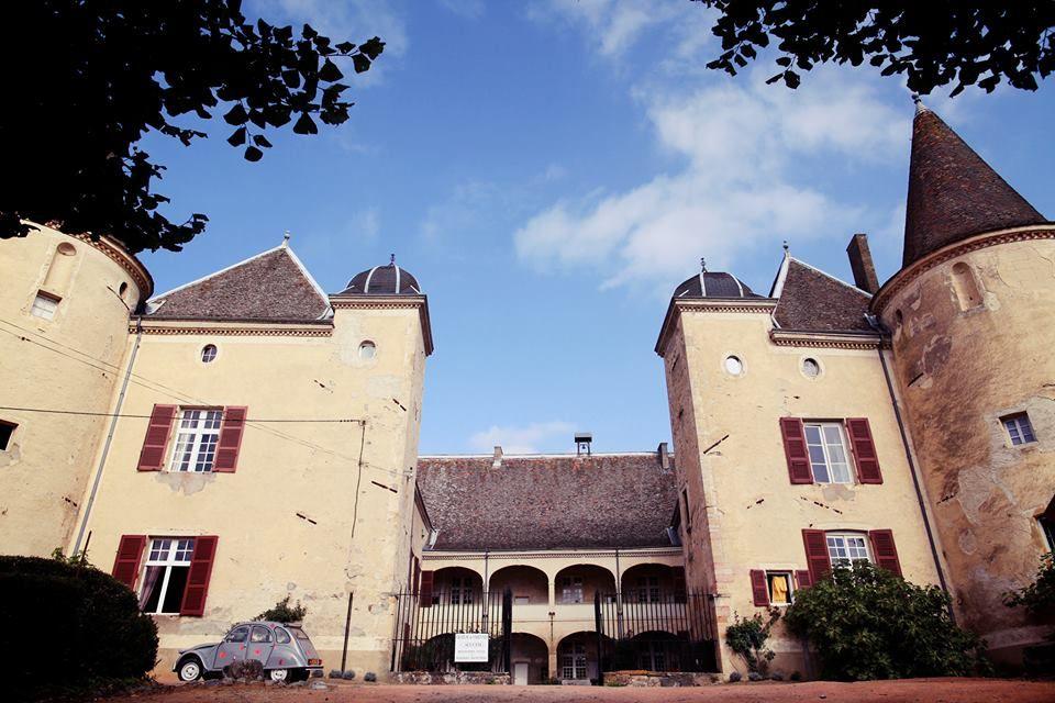 Le château de Varennes, face