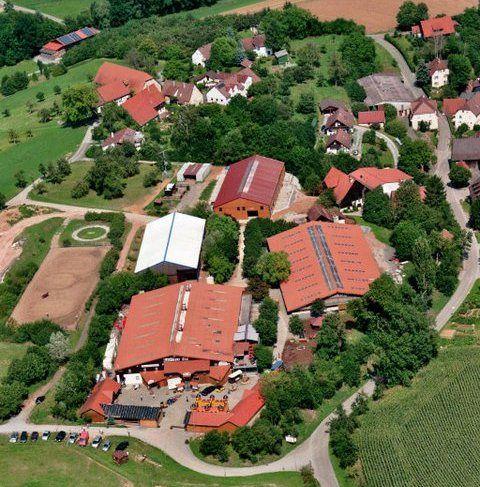 Beispiel: Luftbild, Foto: Küffner Hof.