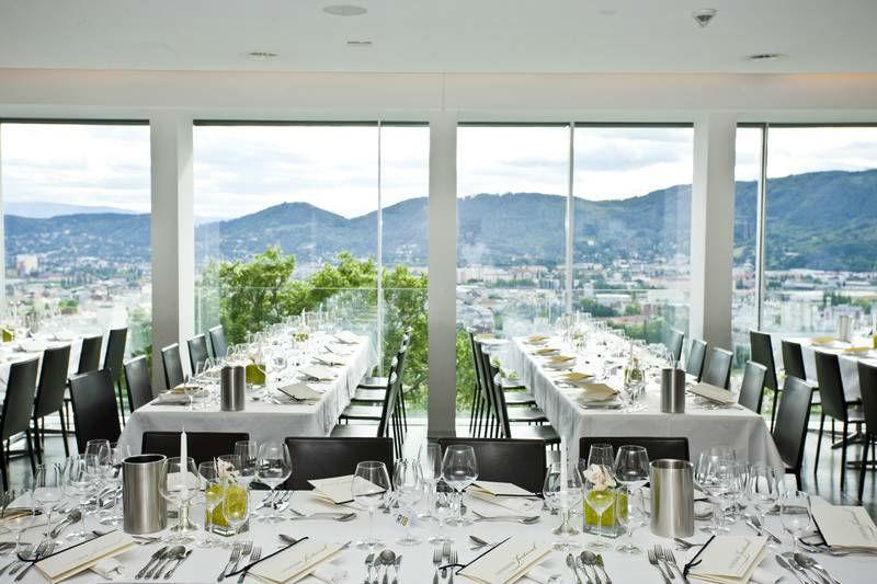 Beispiel: Hochzeitstafel, Foto: Restaurant Schlossberg.