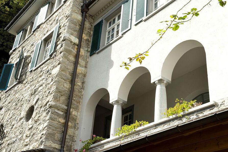 Beispiel: Fassade, Foto: Hotel Schloss Ragaz.