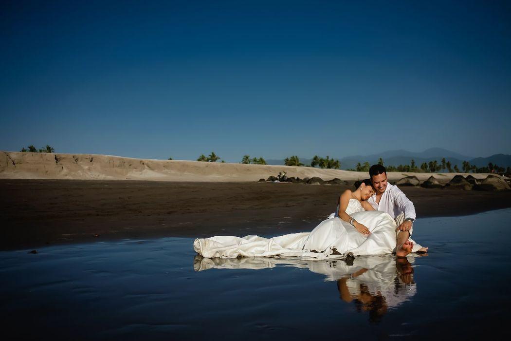 Trash the dress en San Blas Nayarit