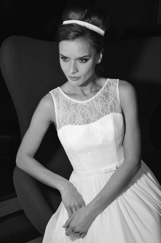 Beispiel: Brautkleid - Mia Lavi, Foto: La Promesse Braut- und Abendmode.