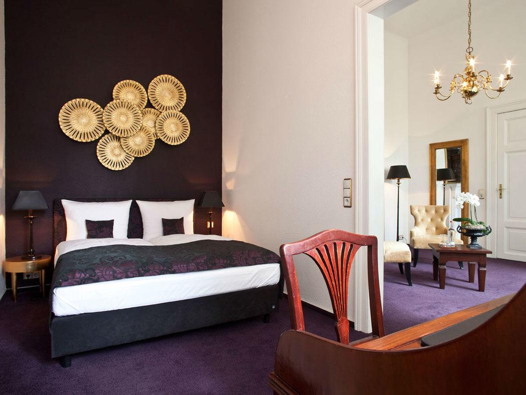 Beispiel: Hotelzimmer, Foto: Schloss-Hotel Kittendorf.