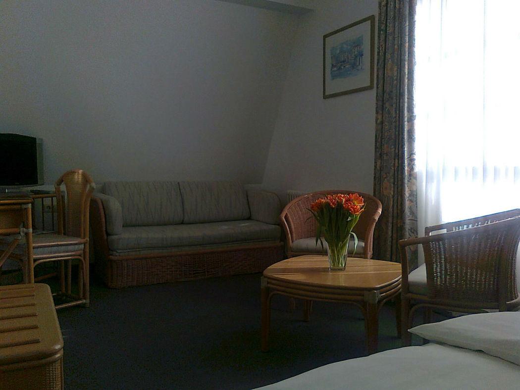 Beispiel: Zimmer, Foto: Landhaus am Poloplatz.