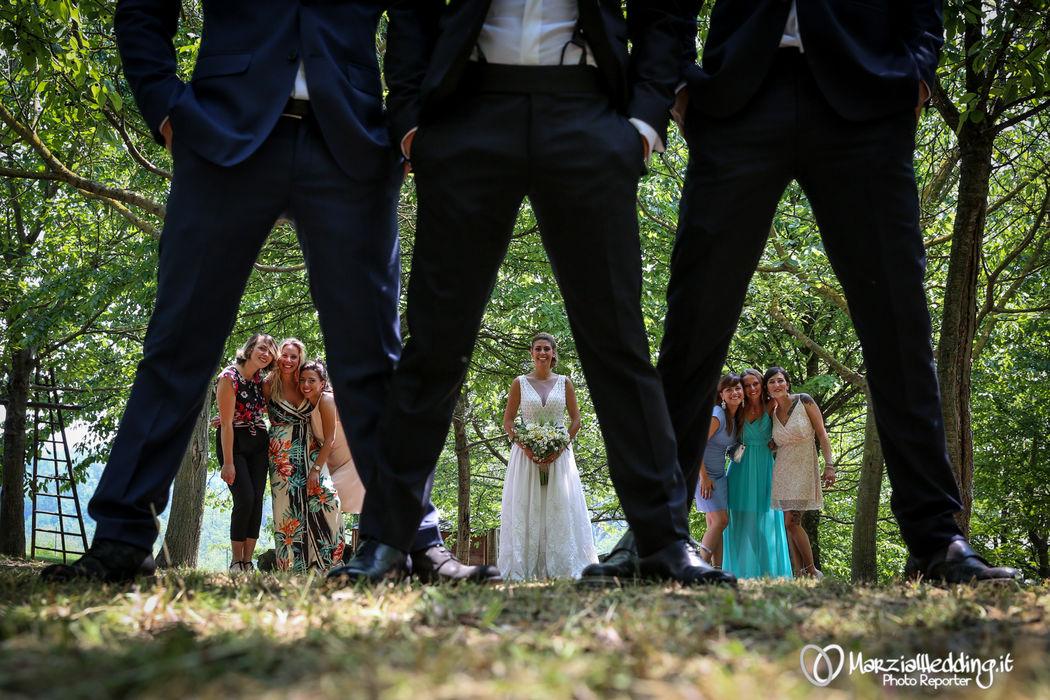 Foto simpatiche sposi