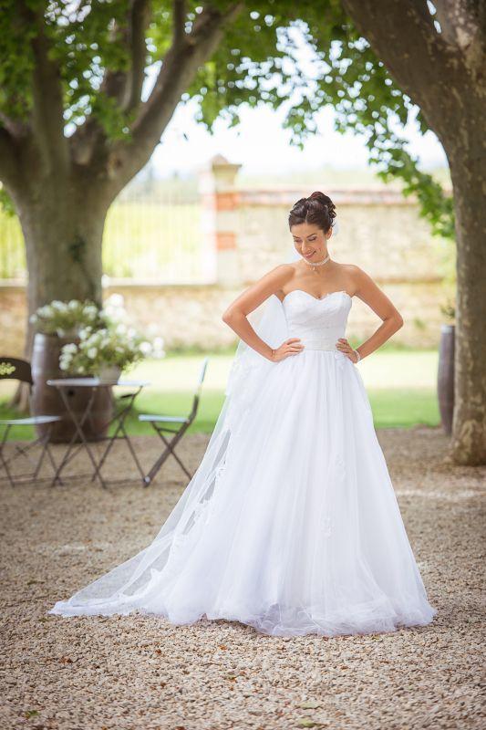 Collection Mariées de Provence 2017 - modèle CONSTANCE