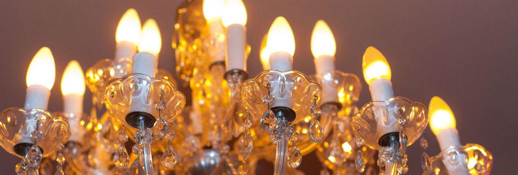 Beispiel: Beleuchtung - Dekoration, Foto: Kaskaden Wirtschaft Grischäfer.