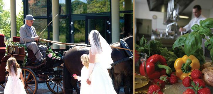 Beispiel: Hochzeit, Foto: Hotel Speicher am Ziegelsee.