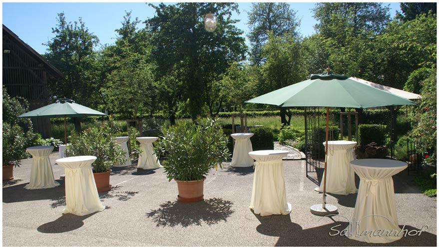 Beispiel: Terrasse, Foto: Sallmannhof.