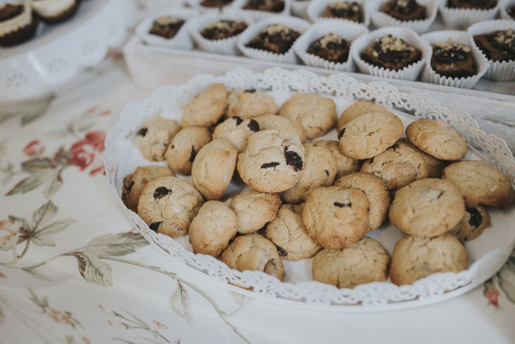 Mini cookies de 3 chocolates