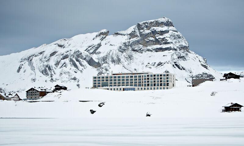 Beispiel: Aussenansicht / Winter, Foto: Hotel frutt LODGE & SPA.