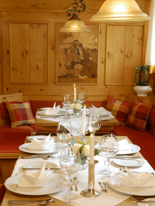 Beispiel: Restaurant, Foto: Landgasthof Weisser Löwe.